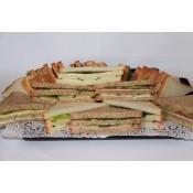 Vergaderschaal Sandwiches XL (geserveerd in luxe catering-doos)
