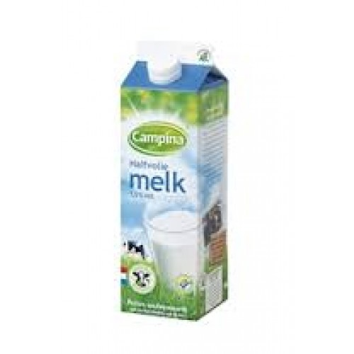 Halfvolle Melk Campina 1 ltr.
