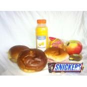 Dagpakket...(ontbijt en lunch) bezorgen vanaf 09.00 uur
