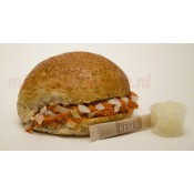 Zacht Broodje Filet Americain (Bruin)
