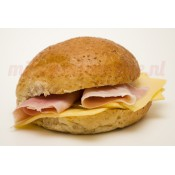 Zacht Broodje Ham/Kaas (Bruin)
